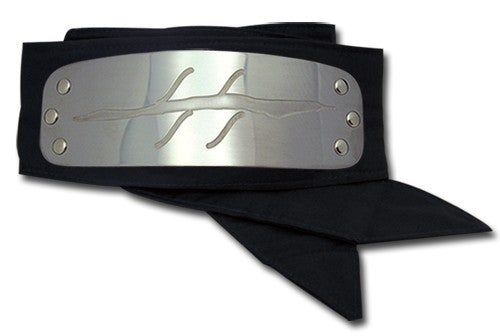 Naruto Anti Mist Headband Officially Licensed