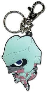 JOJO'S BIZARRE ADVENTURE:  Shining / Crazy Diamond Josuke's Stand Pvc Keychain