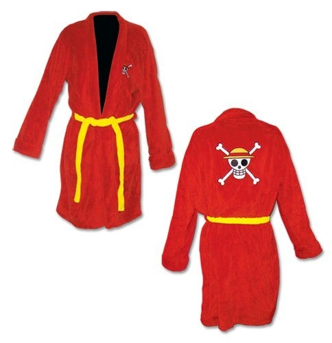 One Piece Jolly Roger Bath Robe