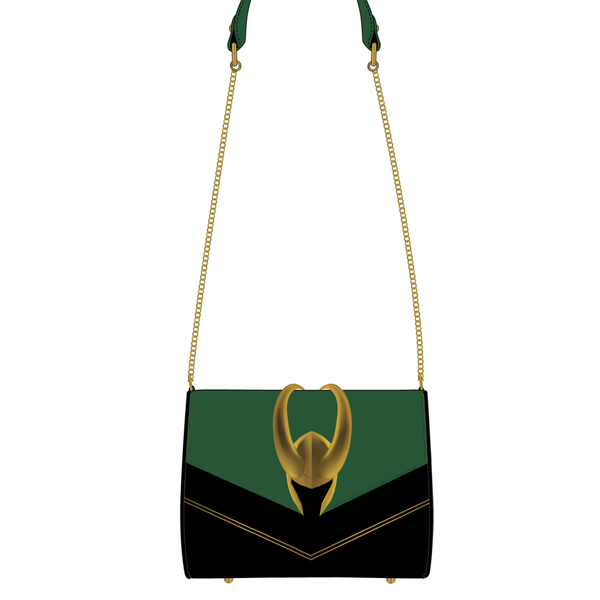Loki Hardware Crossbody Bag Loungefly PRE-ORDER expected late May