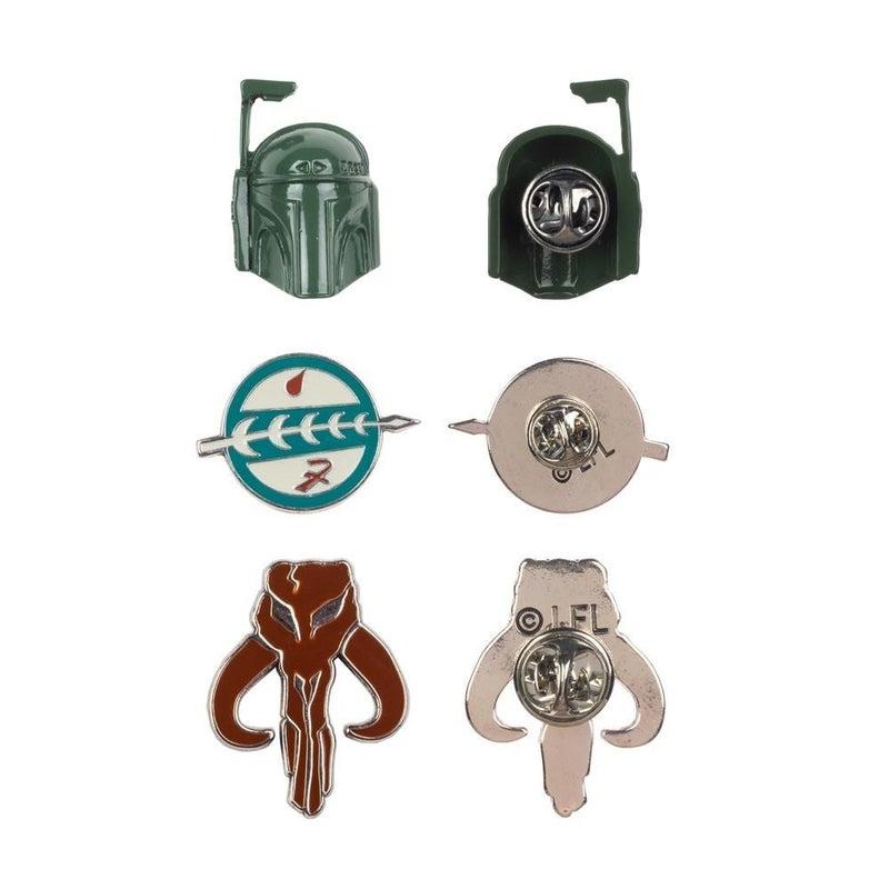 Star Wars Boba Fet Lapel pin Set