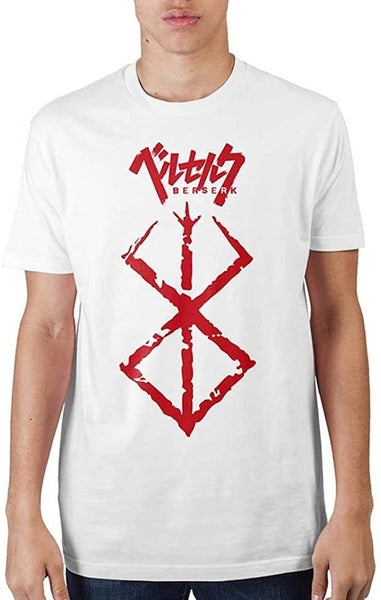 Berserk Brand of Sacrifice Symbol White T-Shirt
