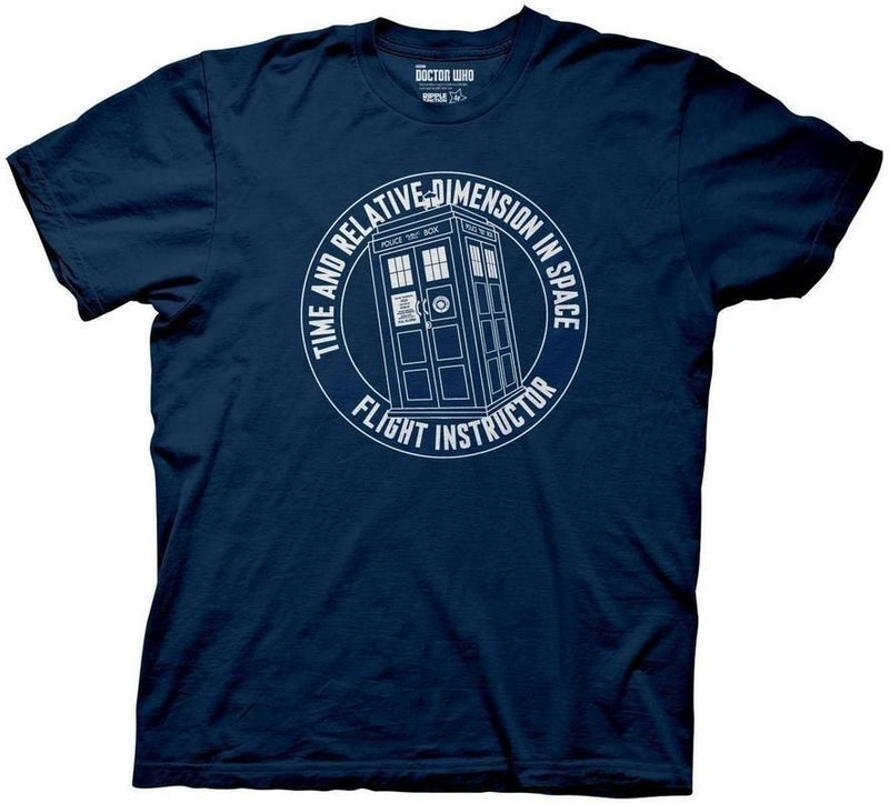 Doctor Who Flight Instructor T-shirt