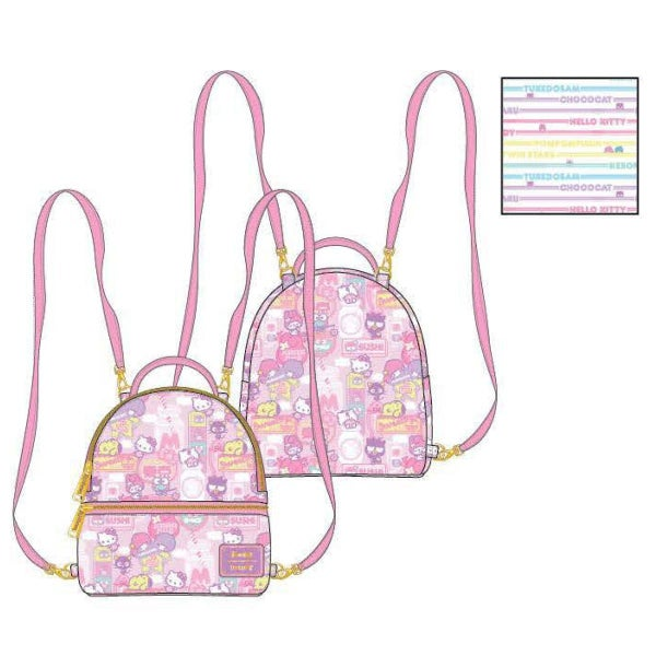 SANRIO: HELLO KITTY  Kawaii mini Backpack LOUNGEFLY