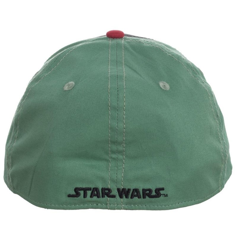 Star Wars Boba Fett Embroidered Flex Fit Hat Cap