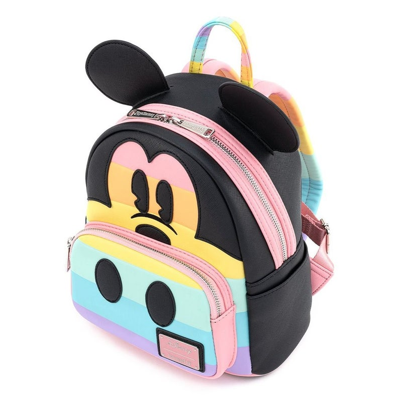 Mickey Patel Rainbow Mini Backpack Loungefly