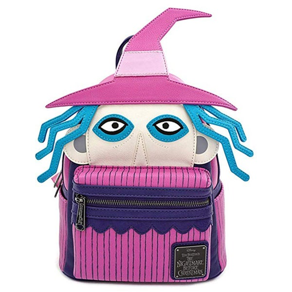 NIGHTMARE BEFORE CHRISTMAS SHOCK CHARACTER MINI BACKPACK LOUNGEFLY