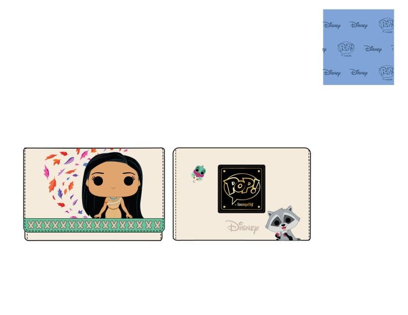 Pocahontas Meeko Flit Earth Day Wallet Disney Pop by Loungefly PRE-ORDER