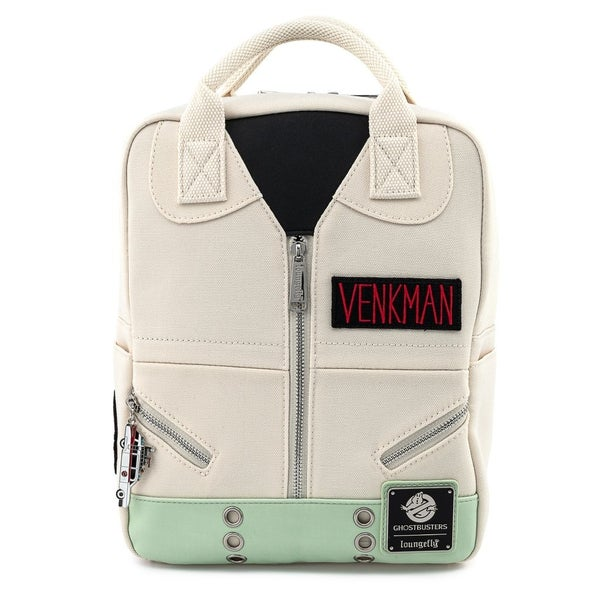 Ghostbusters Venkman Cosplay Square Canvas Mini Backpack Loungefly