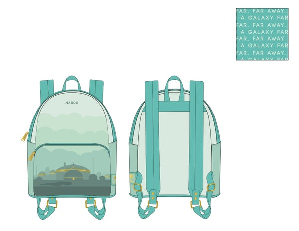 Star Wars Lands Naboo Backpack Loungefly PRE-ORDER