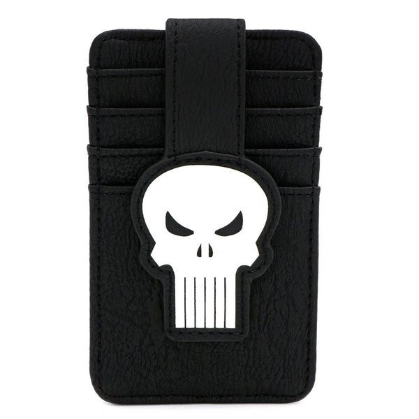 MARVEL PUNISHER SKULL CARD HOLDER LOUNGEFLY165468
