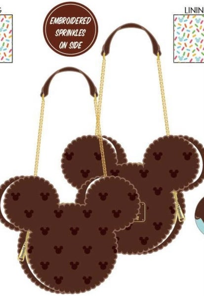 Mickey Mouse Ice Cream Sandwich Crossbody Loungefly - PRE-order late February
