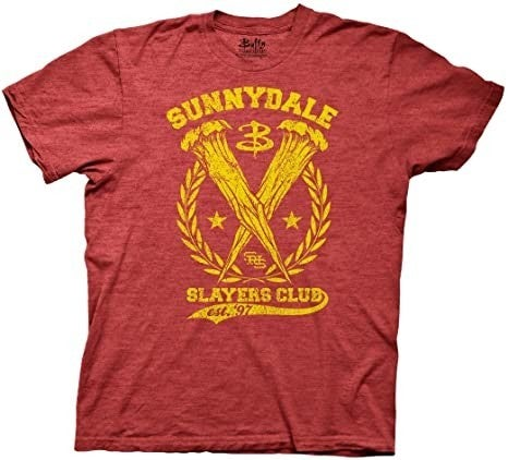 Buffy the Vampire Slayer Sunnydale High Slayers Club t-shirt