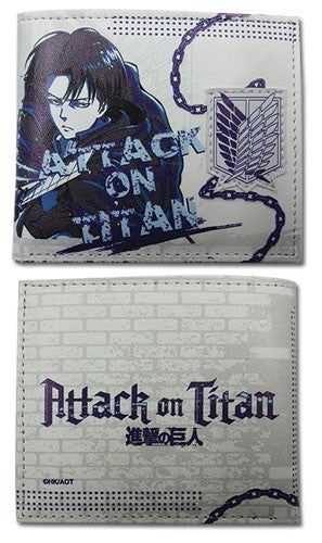 Attack on Titan Levi Bi-fold Wallet