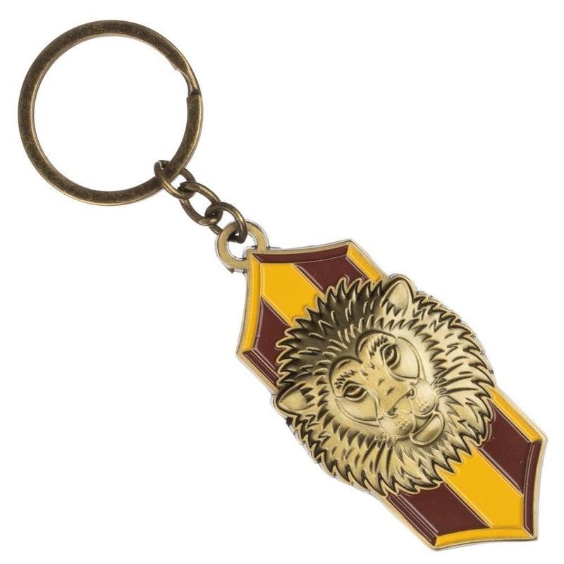 Harry Potter Gryffindor Lion Crest Metal Keychain