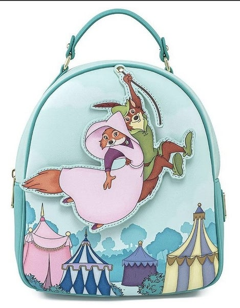 Robin Hood & Maid Marian Disney Mini Backpack Loungefly