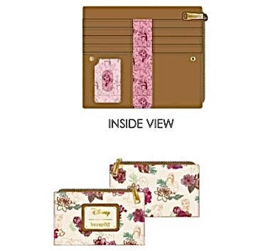 DISNEY PRINCESS Floral SET or CROSSBODY options  LOUNGEFLY