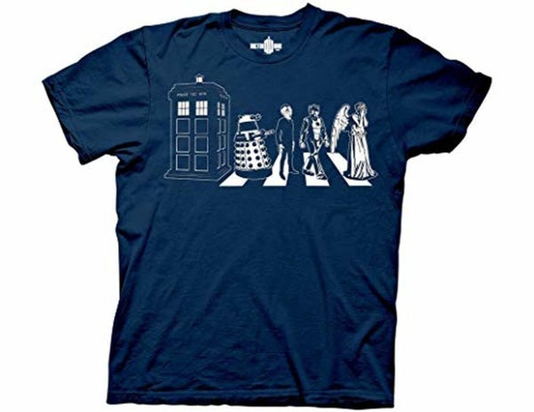 Doctor Who Street Crossing T-shirt