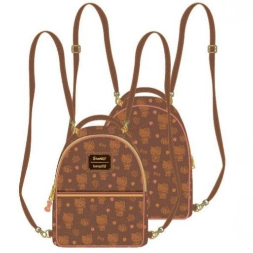Hello Kitty Pumpkin Spice SET, MINI BACKPACK or WALLET options [PRE-ORDER - OCTOBER DELIVERY] LOUNGEFLY