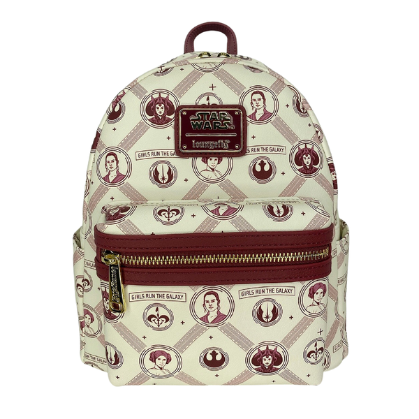 Exclusive Star Wars - Girls Run the Galaxy AOP mini backpack