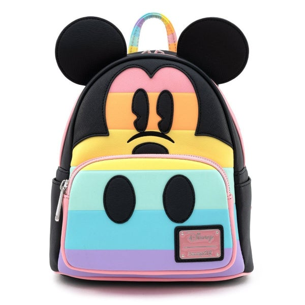 Mickey Patel Rainbow Mini Backpack Loungefly
