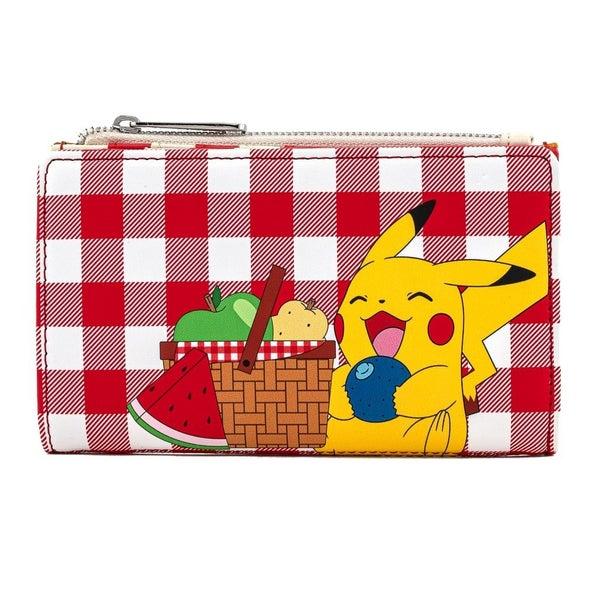 Pikachu Picnic Basket Flap Wallet