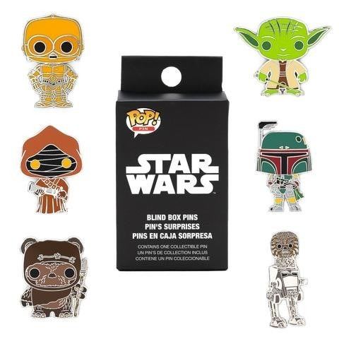 Star Wars Pop! by Loungefly Blind-Box Enamel Pin random choice of 1