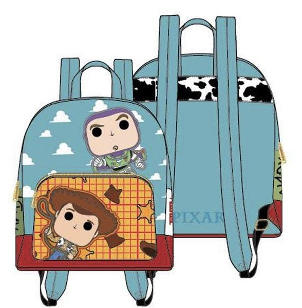 Toy Story Pixar Buzz and Woody Mini Backpack or Set Loungefly PRE-ORDER shipping August