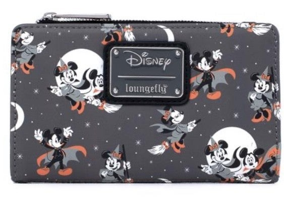 Mickey Halloween AOP Wallet  LOUNGEFLY