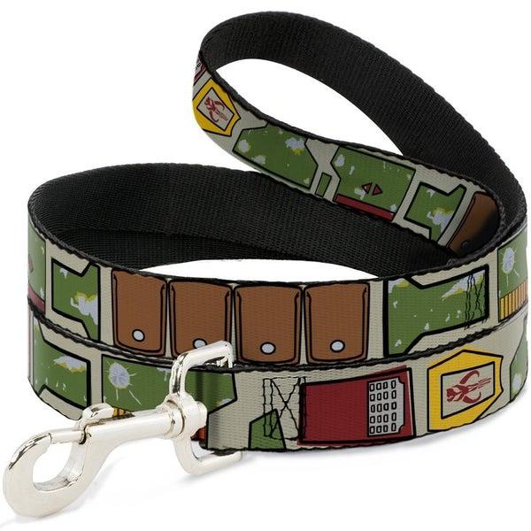 Dog  Leash Star Boba Fett Utility Belt
