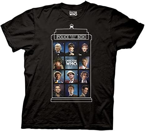Doctor Who Group Doctors t-shirt