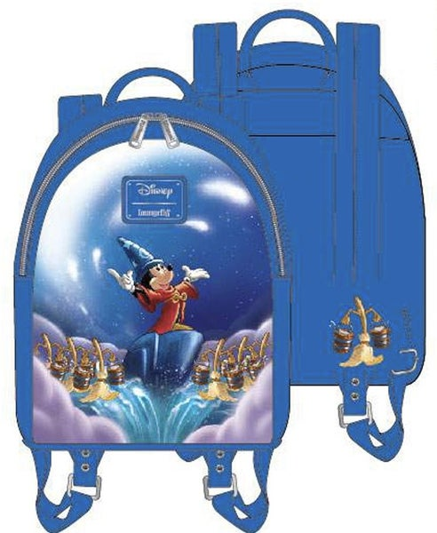 Fantasia Sorcerer Mickey Mini BACKPACK, WALLET & SET Options Loungefly PRE-ORDER Nov/Dec