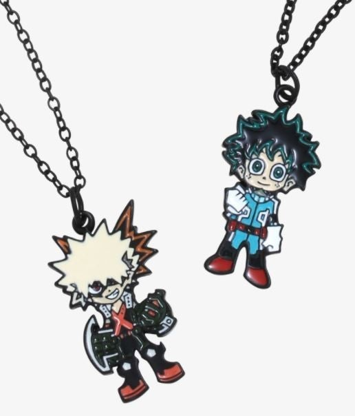 MY HERO ACADEMIA BEST FRIEND / RIVALS NECKLACE SET