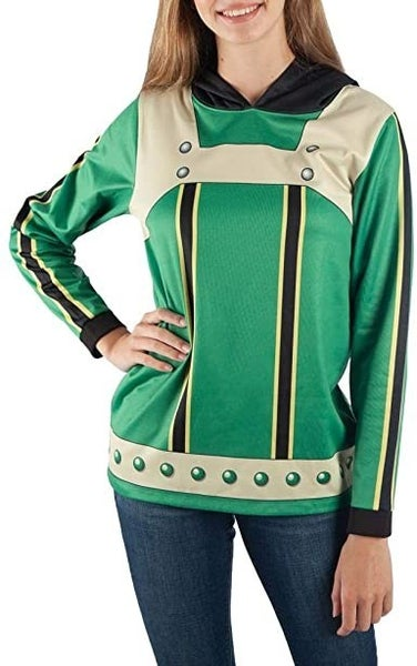 My Hero Academia Froppy Girls pull over Hoodie