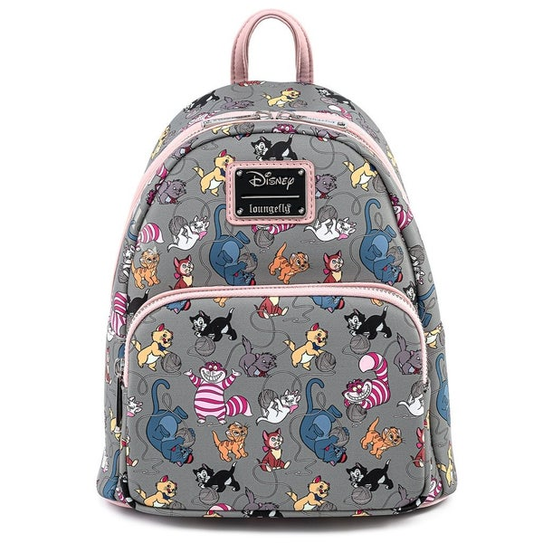 DISNEY Cats SET, MINI BACKPACK & WALLET options LOUNGEFLY