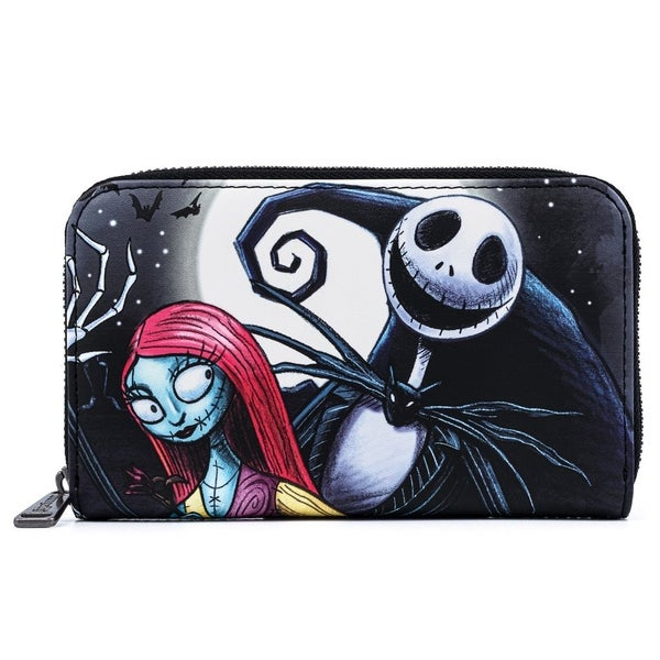 NBC Nightmare Before Christmas Simply Meant to Be Wallet Zip Around Loungefly