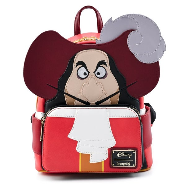 Loungefly Peter Pan Captain Hook mini Backpack