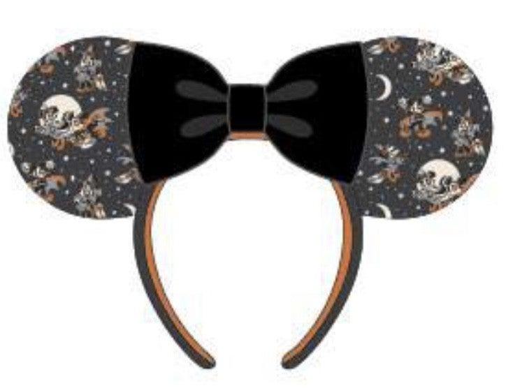 Mickey Halloween AOP Ears Headband LOUNGEFLY