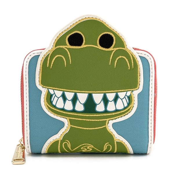 Toy Story Rex Wallet Zip Around Loungefly