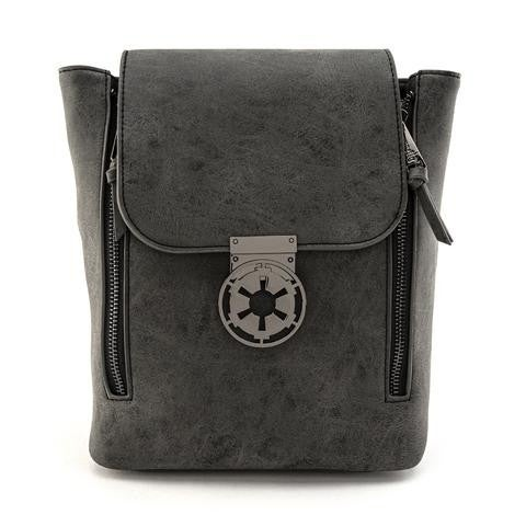 Star Wars Imperial Metal Closure Convertible Mini Backpack Loungefly