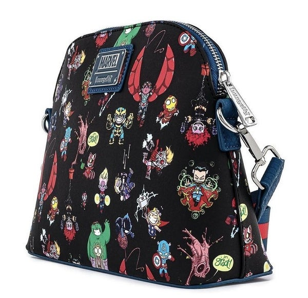 Marvel Chibi Group Crossbody Loungefly