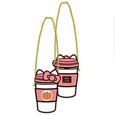 Hello Kitty Pumpkin Spice Crossbody  [PRE-ORDER - OCTOBER DELIVERY] LOUNGEFLY