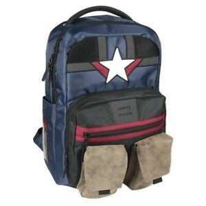 Bioworld Marvel Avengers Captain America Full Sized Backpack