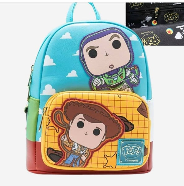 Toy Story Pixar Buzz and Woody Mini Backpack or Set Loungefly