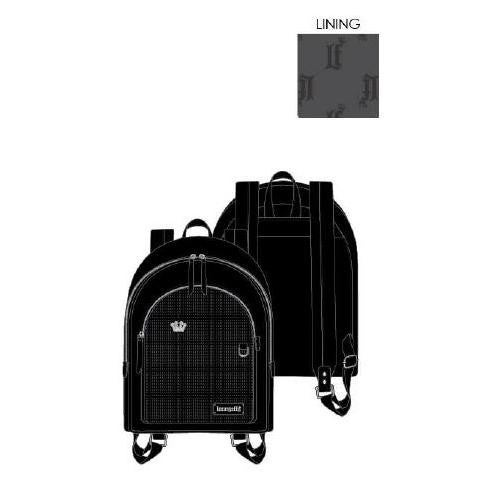 Black Pin Trader Mini-Backpack ita bag Loungefly PRE-ORDER
