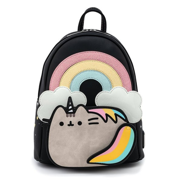 Pusheen Rainbow Unicorn Mini Backpack Loungefly
