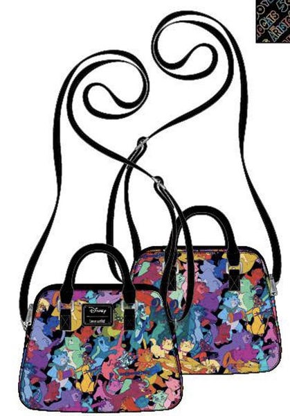 Aristocate Jazzy Cats CROSSBODY, WALLET & SET Options Loungefly PRE-ORDERS Nov/Dec