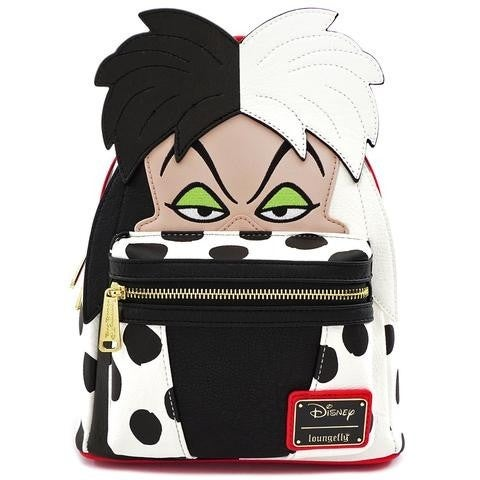 Cruella De Vil Cosplay Mini Backpack Disney Loungefly