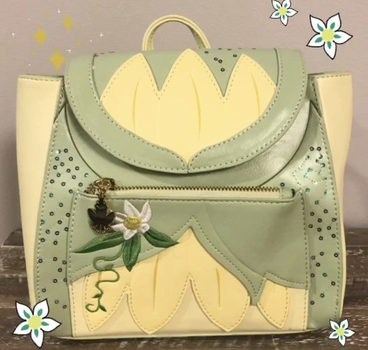 Tiana Cosplay Mini BACKPACK, WALLET or Set options Loungefly PRE-ORDER Nov/Dec