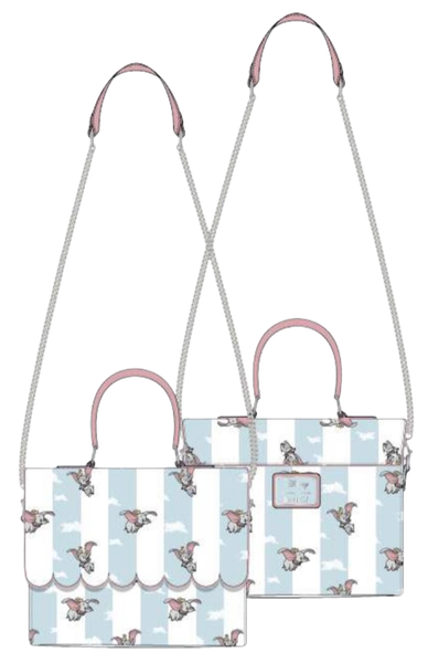 Dumbo Flying AOP Crossbody Loungefly - PRE-Order Late February - duplicate